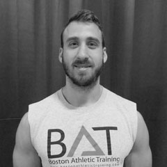 Boston Athletic Training Coach Eli